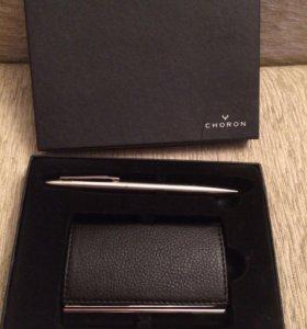 Подарочный набор (визитница+ручка)