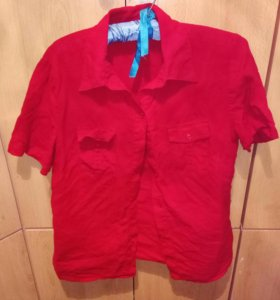 Блуза. Рубашка 48-50