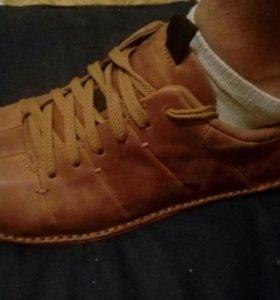 Ботинки. Кожа
