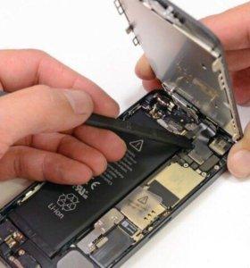 Замена модульных дисплеев, батарей и т.д.