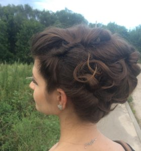 Косы, причёски, плетение, укладка