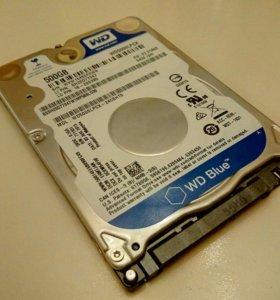 Жесткий диск WD 500 GB. WD500LPCX