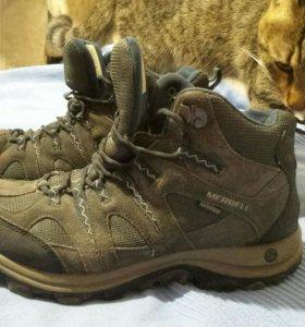 Треккинговые ботинки Merrell waterproof 28 см б/у