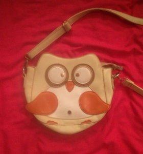 Очень милая сумочка совушка для девочек