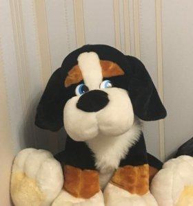 Мягкая игрушка собака большая