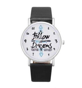Часы Follow your dreams. 161217
