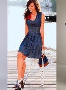 Платье джинсовое р.42-44