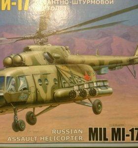 Модель вертолета сборная