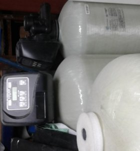 Система водоочистки Колонны 12-52 и 13-54