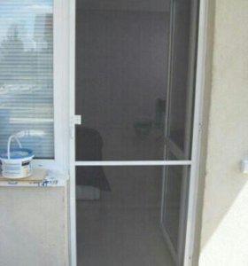 Анти москитные двери-сетки