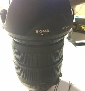 Sigma 18-200 3.5-6.3 Nikon объектив