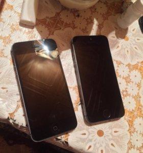 iphone 5 16Gb и 5s 32Gb