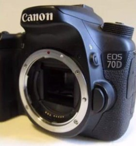 Фотоаппарат Canon 70d body