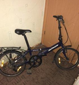 Складной велосипед Author simplex (2008)