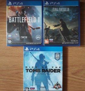 Новые Нераспакованные Игры на Sony PS 4