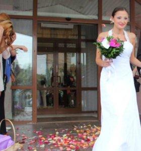 Платье свадебное 40-42 размер