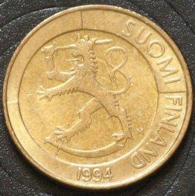 Финляндия 1 марка