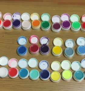 Цветные гель-лаки