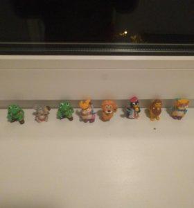 Игрушки 90-ых из Киндер Сюрприза