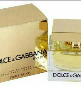 Dolce&Gabbana The One,оригинал.