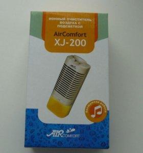 Воздухоочиститель-ионизатор с ночником новый