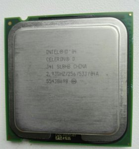 Процессор Intel Celeron D 341 2,93GHz