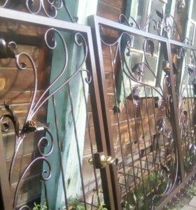 комплект кованых ворот