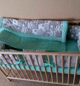 Спальный комплект в кроватку