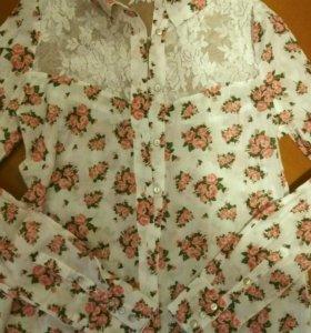Кофта рубашка блузка новая