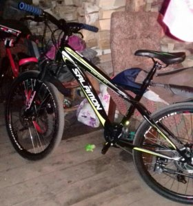 Велосипед 24 скорости