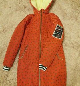 Зимняя куртка 44-46.