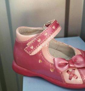 Туфли на девочку БАМБИНИ