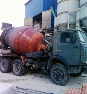 Камаз бетоносмеситель