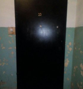 Дверь входная металлическая БУ