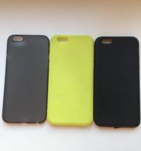 Силиконовые чехолы для iPhone 6/6s