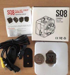 Мини камера SQ8 mini dv Full HD 1920x1080