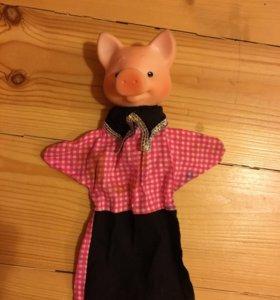 Куклы на руку для домашних спектаклей