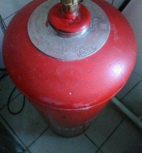Баллон газовый (пустой) со шлангом