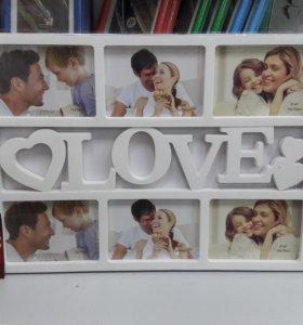 Рамка Love. (новая)