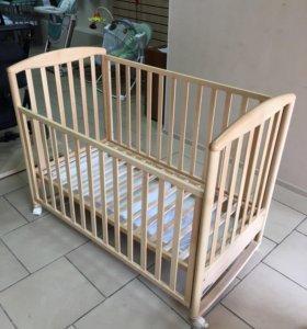 Кровать Foppapedretti Liuba, колесо или качалка
