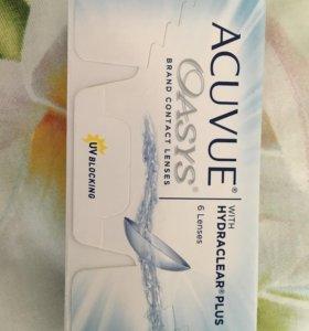 Двухнедельные контактные линзы Acuvue Oasys
