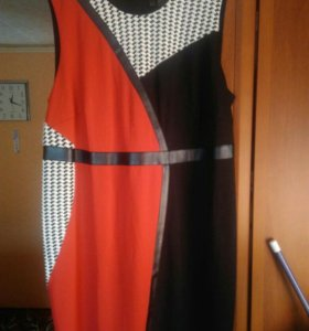 Платье-сарафан трикотажное