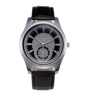 Кварцевые стильные нержавеющие часы