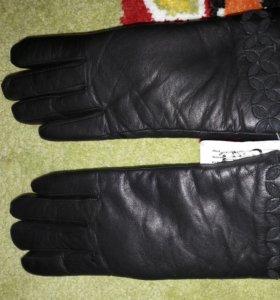 Перчатки женские, зимние.
