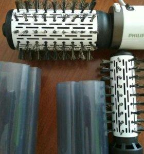 Фен щетка. Филипс Dynamic Volume Brush HP8665,