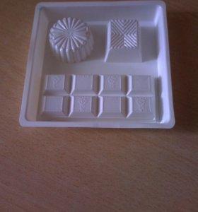 Формочки пластиковые для мыла