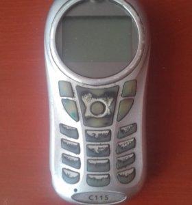 Motorola C115 на запчасти