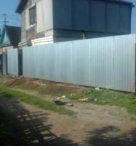 Строительство. Забор под ключ калитка ворота