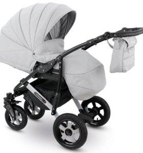 Детская коляска 3 в 1 Camarelo Sevilla серый цвет