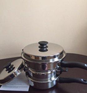Посуда iCook.Набор сотейников 5 предметов